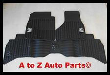 2009-2012 Dodge Ram QUAD CAB Slush Style RUBBER Front / Rear Floor Mats,Mopar