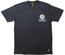 SWPS-en el bolsillo del pecho-Premium Dry Fit Transpirable Deportes Camiseta
