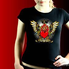 Tatuaje Gótico Rockabilly mujer camisa de la muchacha 7188