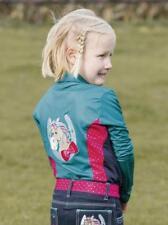 BUSSE Kinder Polo Shirt KIDS COLLECTION III Langarm turquoise/pink