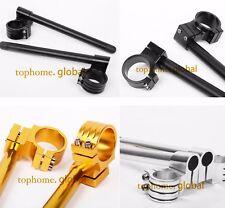 33/35/36/37/39/41/43/50/51/53mm Fork Clip Ons Handlebar Normal Raised 31-55mm AU