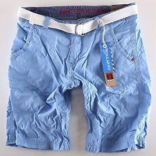 Timezone Herren Shorts Chino Russell TZ 3852 + Gürtel Größen wählbar Neuware