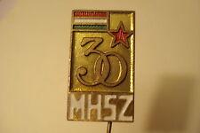Hungary Hungarian Badge Pin MHSZ 30 Years Civil Defense
