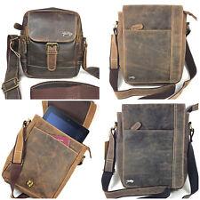 cuir sac en bandoulière Messager comprimé Essentials Sac en cuir homme sac