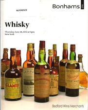 BONHAMS WHISKY Glen Grant Glenlivet Jameson Macallan Auction Catalog 2012