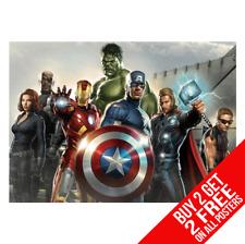 Marvel Avengers Affiche Poster Artistique A4 A3 Taille Acheter 2 Get Importe 2