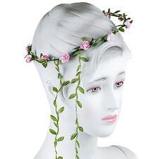 Couronne fleur Bohème mariage guirlande front cheveux tête bandeplag~PL