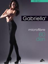Strumpfhose Gabriella, Microfaser 60 den schwarz auch Übergröße Feinstrumpfhose