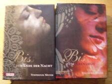 Stephenie Meyer [2  Bücher ] Zum  Ende der Nacht + Abendrot GEBUNDEN CARLSEN