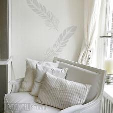 Plantilla De Pared De Plumas muebles de decoración del hogar Hazlo tú mismo Manualidades la plantilla Studio