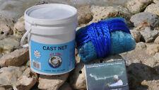 "Joy Fish Bait Cast Net (3/8"" Sq. Mesh) *Free Speedy Shipping From Florida*"