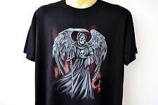 Sensemann, The Reaper, t-shirt, sobre tamaño, m-5xl, plus Size, Heavy Cotton, Gothic