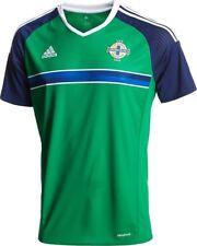NORTHERN IRELAND 2016 M,L,XL,2XL ADIDAS SH/SL GREEN FOOTBALL SOCCER SHIRT JERSEY