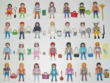 Playmobil Figurine Personnage Ville City Life + Accessoire Modèle au Choix NEW