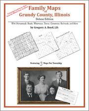 Family Maps Grundy County Illinois Genealogy IL Plat