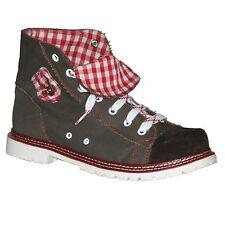 Trachten Stiefel Jack Männer rot Trachtenschuh Schuh Trachtenstiefel Herren NEU