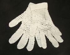 Ancienne paire de gants d'enfant, linge ancien