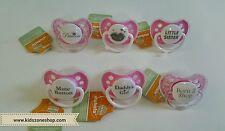 Ulubulu Expression Pacifier 0-6M for Baby Girls
