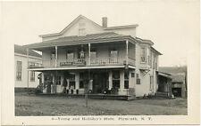 RPPC NY Plymouth 4 Young & Holidays Store Chenango County