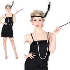 Nuevo Mujer Adulto Flequillos Flapper Jazz Años 20 30s Disfraz Chicago