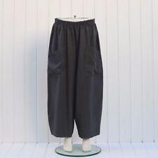 Plus Size Linen Trousers Lagenlook 16 18 20 22 24 26 28 30 32 Womens Pants 9461