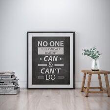 Barbara Corcoran Inspirational Wall Art Print Motivational Quote Poster Decor