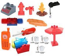 Bricks Fire Station Siren Toolo Spare Parts Toolo Screwdriver Lego Duplo Compati