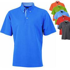 James & Nicholson Herren Polo Poloshirt Shirt S M L XL XXL XXXL
