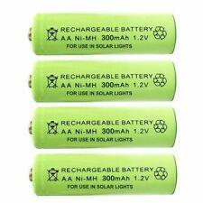 AA Ni-MH 300mAh 1.2V Rechargeable Solar Light Batteries For Garden Lights& Decor