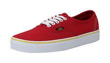 Vans Women Unisex Adult Shoes Authentic Solstice 2016 Red Black Gold