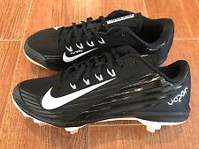 NEW Nike Lunar Vapor Pro Metal Men's Baseball Cleats 683895 Black/White