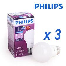3PCS Philips LED 11W 1055Lm Light Lighting Bulb Bulbs Globes Lamp 200~240V = 85W