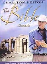 THE BIBLE Genesis CHARLTON HESTON Adam and Eve Cain Noah DVD BRAND NEW SEALED