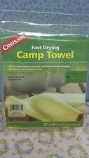 "Camp Towel, Fast Drying, 12"" X 30"", Nice Soft Yellow, Coghlan'S"