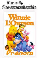 Puzzle Winnie L'Ourson V1 Disney personnalisé avec prénom