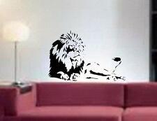 NEW Lion Africa Safari Zoo Animal Kid Room Wall Art Decor Vinyl Decal Sticker