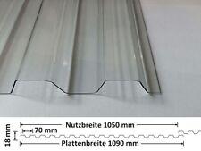 Lichtplatten ONDEX SOLLUX | 1,0 mm | PVC | glatt | 70/18 Spundwand | div. Farben