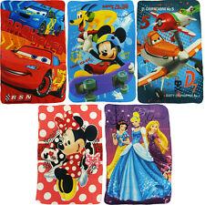 DISNEY tappeti di panno 100 x 150 cm Cars Planes Minnie Mickey Princess
