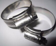 JCS Hi-Grip Hose Clips Marine Grade Stainless Steel - (Qty 2)