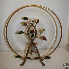 JAY STRONGWATER Decorative Plate & Stand Swarovski