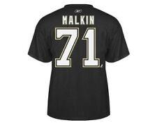 Evgeni Malkin Pittsburgh Penguins Reebok NHL Home Black Name & Number T-Shirt