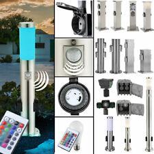LED Street light Dimmer Exterior lamps IP44 Sockets RGB Remote control SENSOR