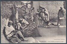 MAROCCO Maroc CASABLANCA 02 Maghribiyya TAPPETI MERCATO Cartolina circa 1907
