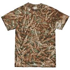 Colortone Mens Short Sleeve Tie Dye Camo Pattern T-Shirt (RW4122)
