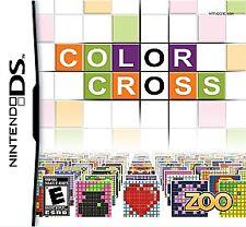 Nintendo DS - DS, DSi, Lite, XL - Color Cross - Brand New - Sealed