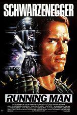 The Running Man (1987) Movie Poster |6 Sizes |#2 Schwarzenegger Arnie dvd bluray
