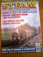 STEAM RAILWAY MAGAZINE NO 168  APR 1994 ALUN REES SVR HOPE VALLEY NRM SALE LOCOS
