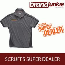 SCRUFFS GRAPHITE ACTIVE PRO ZIP POLO Hardwearing Work Shirt