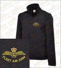 Fleet air arm brodé soft shell veste