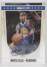 2011 NBA Hoops Autographs Autographed #65 Monta Ellis Golden State Warriors Auto